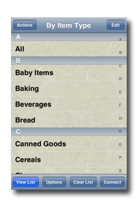 Simply Groceries Connected screenshot 1